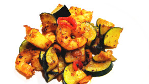 Low Carb - Spicy Shrimp and Veggies