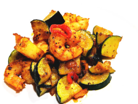 Low Carb - Spicy Shrimp and Veggies