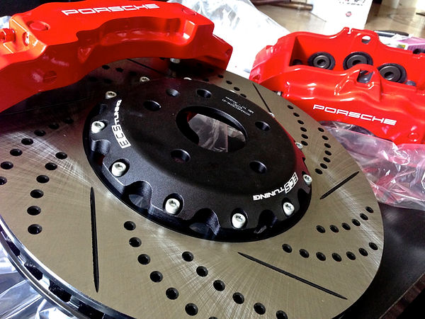 Performance brake setup