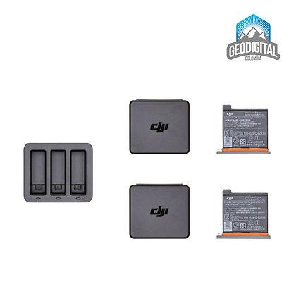 Cargador doble + 2 batería - DJI Osmo Action
