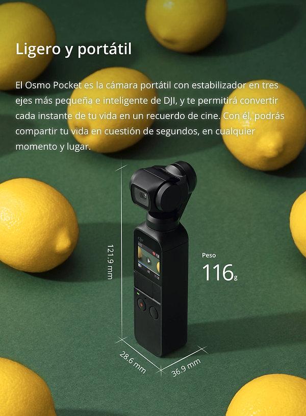 GeoDigital Colombia, DJI Osmo Pocket