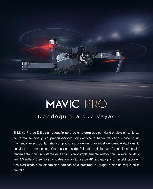 Mavic Pro DJI Cali