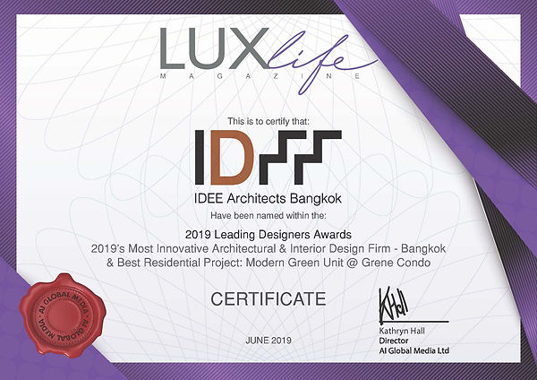 MAJul19007 - IDEE Architects Certificate