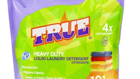 True Heavy Duty Laundry Detergent 101oz