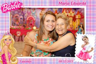 3° aninho da Maria Eduarda - Barbie