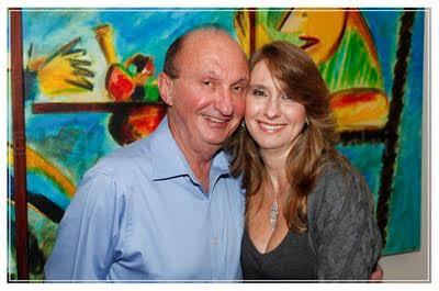 Dr. Alfredo Halpern com a esposa, dra. Cintia Cercato