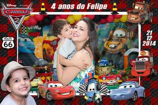 Carros da Disney - Felipe 4 anos