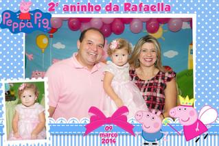 2° aninho da Rafaella - Tema Peppa Pig