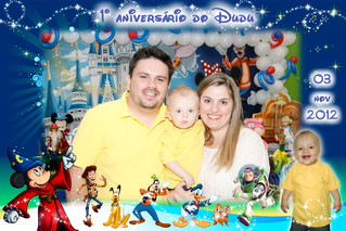 Dudu - Parada Disney - 1 aninho