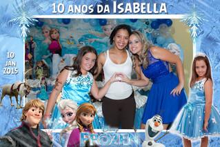 10 anos da Isabella no tema Frozen