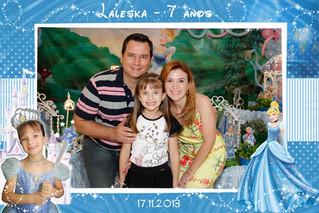 Laleska 7 anos - Fotos Lembranças Cinderela