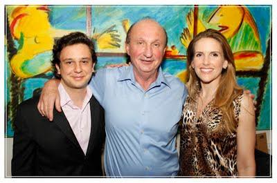 Mariana Ferrão, apresentadora do programa Bem Estar, e o namorado