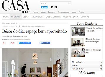 Helô Marques Casa Vogue Loft Demolição