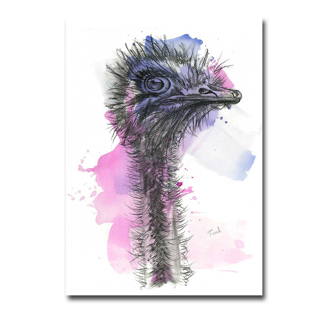 Ophelia the Ostrich