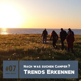 Camping Trends und Schlagwörter