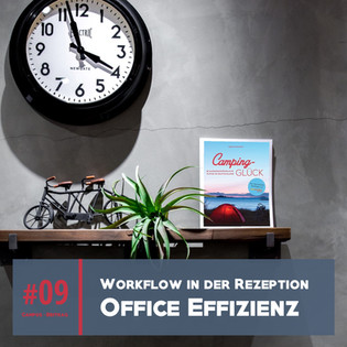 Büro-Effizienz Camping Rezeption