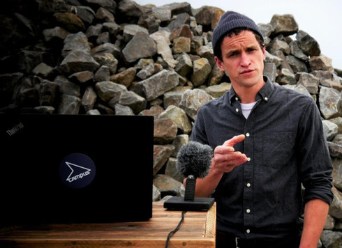 Hannes Müller auf dem Campus - Das InfoPortal für Campingbetriebe