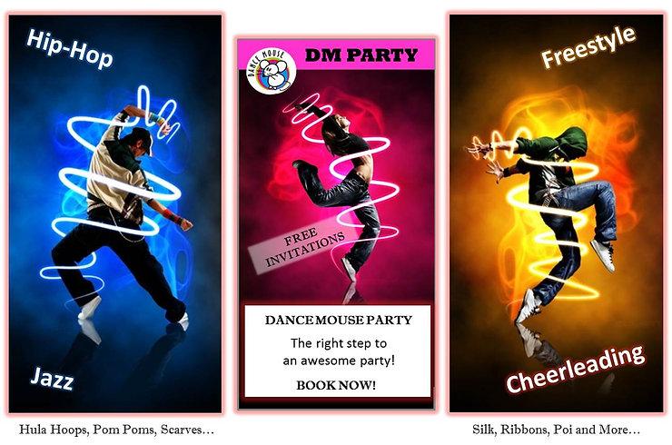 Dance Mouse Party