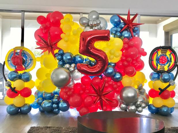 Large Custom Balloon Wall