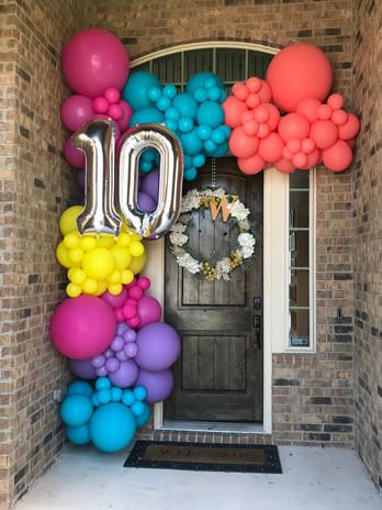 VSCO Themed 10th Birthday