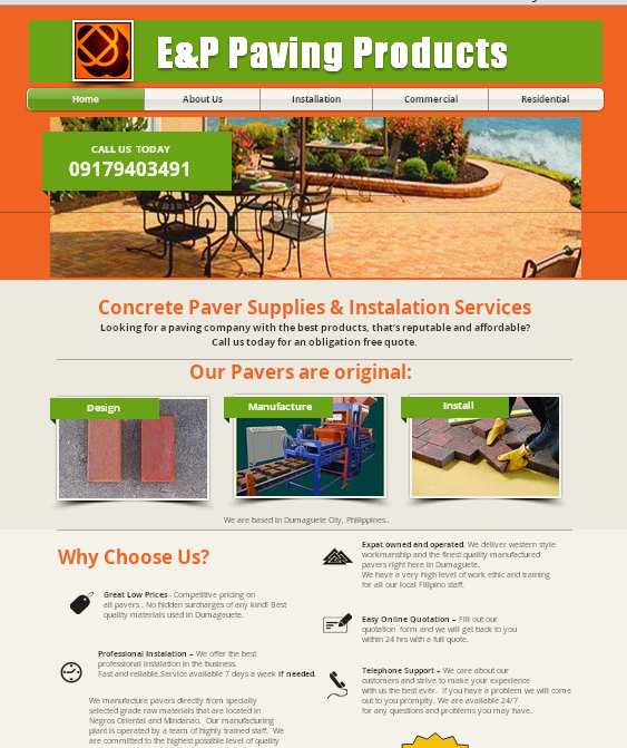 Paving Products website page.jpg