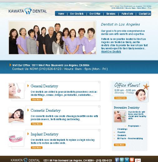 Dentist website front page.jpg