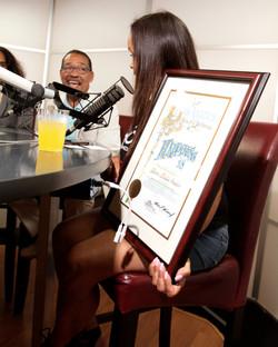 Councilmembers Acknowledge Morris Media Studios