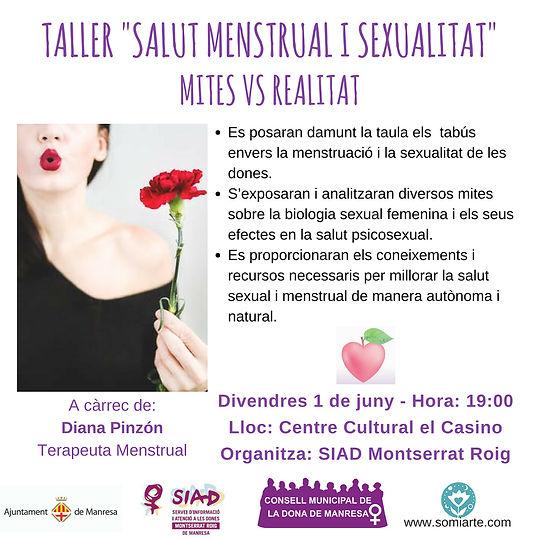 Salud Menstrual Mitos Taller