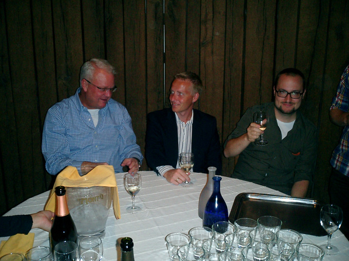 2011 Per Hansson and two attendants Mort