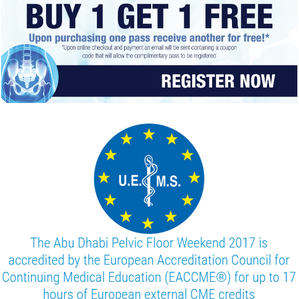 Abu Dhabi Pelvic Floor Weekend: special conditions apply to MIPS Members