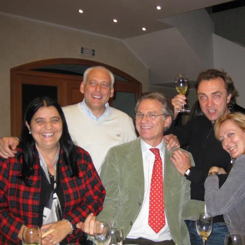 Sara Nica, Franco Marinangeli and Andrey