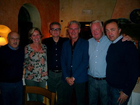 Magdi, Lady,Roberto Tony Per and Andrei.