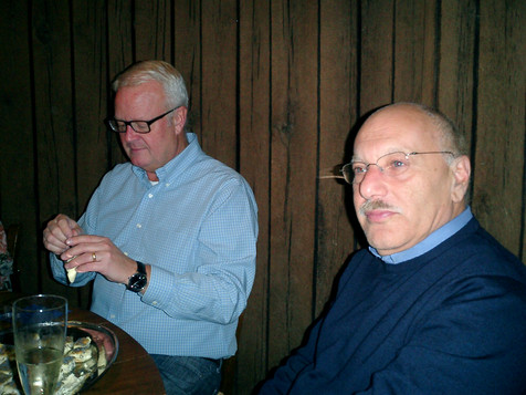 M. Hanna and P. Hansson wine tasting.JPG