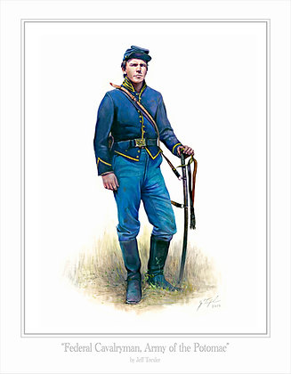 """Federal Cavalryman, Army of the Potomac"""
