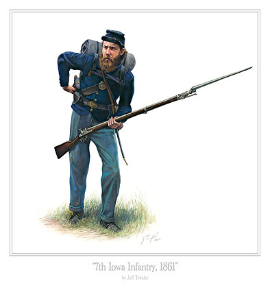 """7th Iowa Infantry, 1861"""