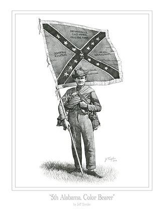 """5th Alabama, Color Bearer"""
