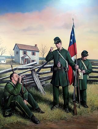 """The Clinch Rifles,1861"""