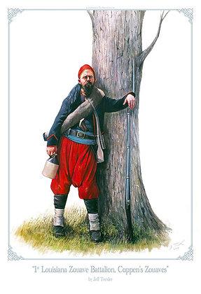 """1st Louisiana Zouave Battalion, Coppen's Zouaves"""