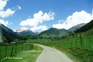 reaching Aru valley