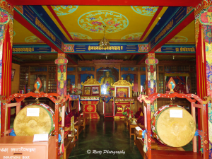 Prayer Hall in Monastery