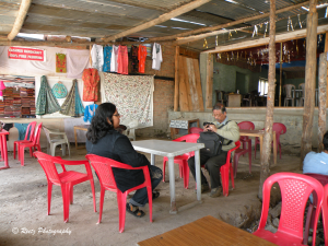 Aru's roadside shack