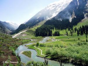 Aru Valley in Kashmir
