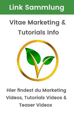 Link Sammlung Vitae Marketing und Tutori