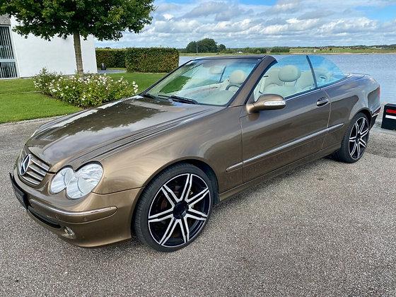 Mercedes CLK200 1,8 Komp. Cabriolet Elegance aut. 2d