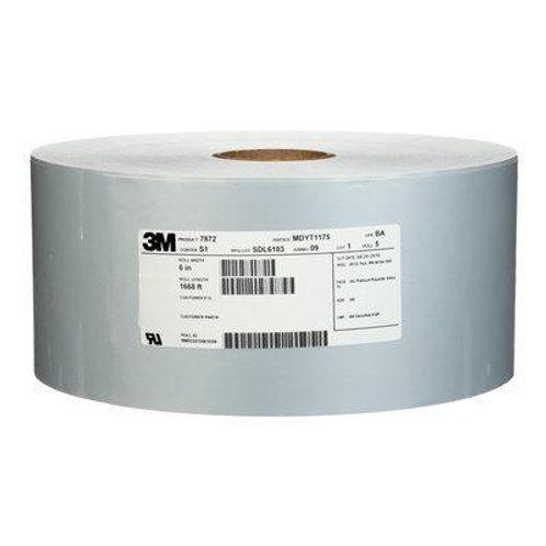 3M 7872 Platinum Polyester Facestock