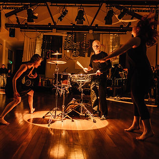 Will Larsen performing with The Australian Dance Party  Photo: Art Atelier Photography