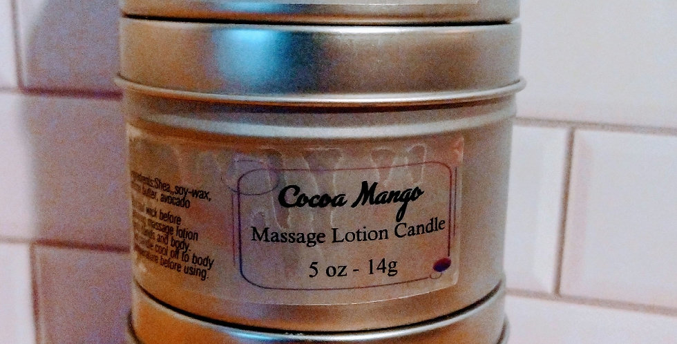 Massage Lotion Candle