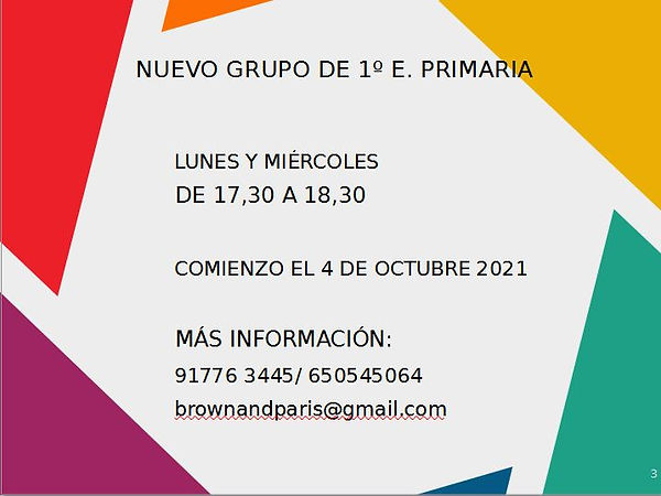 Nuevo grupo 1º PRIMARIA.JPG
