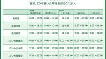 2020年12月28日 和香園 年末年始営業に関するお知らせ