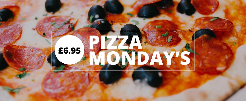 Pizza Monday's - £6.95